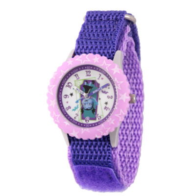 Disney Girls Purple Strap Watch-Wds000423