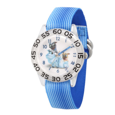 Disney Boys Blue Strap Watch-Wds000426