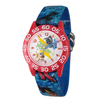 Disney Boys Blue Strap Watch-Wds000427