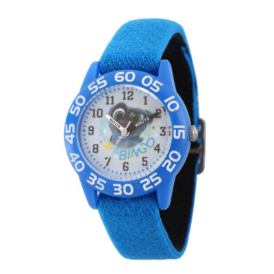 Disney Boys Blue Strap Watch-Wds000428