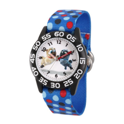 Disney Boys Blue Strap Watch-Wds000429
