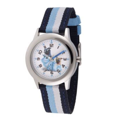 Disney Boys Blue Strap Watch-Wds000431