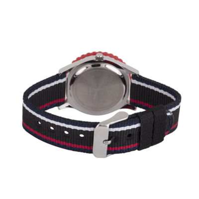 Disney Boys Black Strap Watch-Wds000432