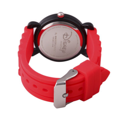 Disney Cars Boys Red Strap Watch-Wds000453