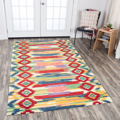 Rizzy Home Zingaro Collection Annabella Stripe Rectangular Rugs