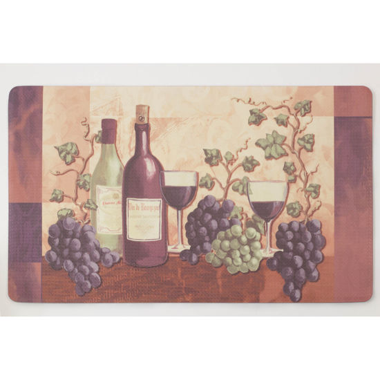 Chef Gear Cabernet Anti-Fatigue Gelness Comfort Kitchen Mat
