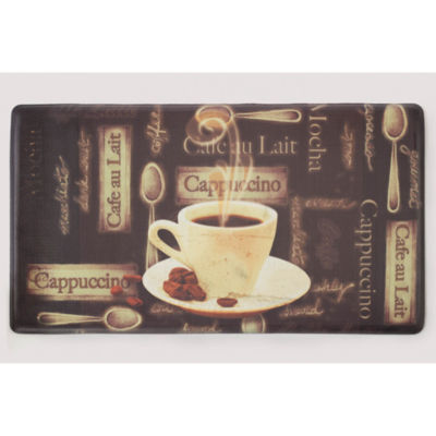 Chef Gear Café Au Lait Anti-Fatigue Gelness Comfort Kitchen Mat