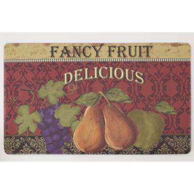 Chef Gear Fancy Fruit Anti-Fatigue Gelness ComfortKitchen Mat