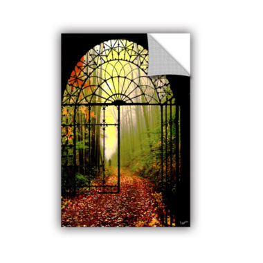 Brushstone Gates Of Autumn Removable Wall Decal