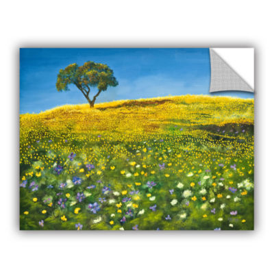 Brushstone Golden Meadow Removable Wall Decal