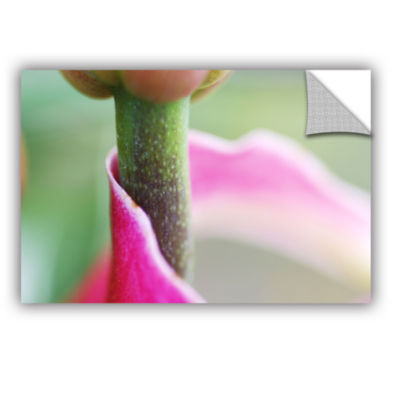 Brushstone Petal Wrapped Stem Removable Wall Decal