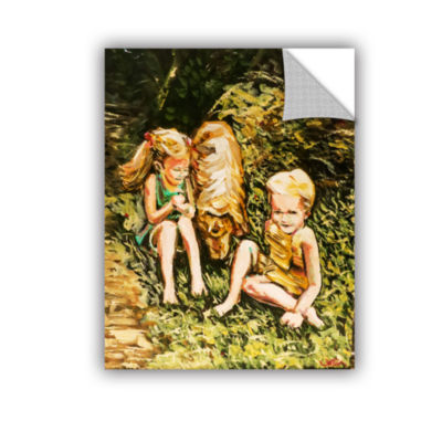 Brushstone Golden Days Removable Wall Decal