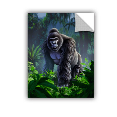 Brushstone Guardian Removable Wall Decal