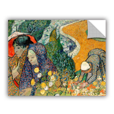 Brushstone Memory Of The Garden At Etten (Ladies Of Arles) Removable Wall Decal