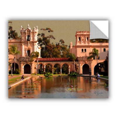 Brushstone Lily Pond Balboa Park Removable Wall Decal