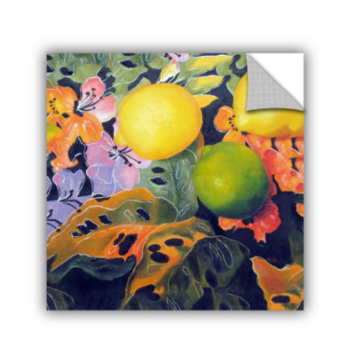 Brushstone Limes And Lemons Removable Wall Decal