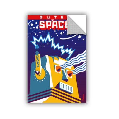 Brushstone Outer Space Removable Wall Decal