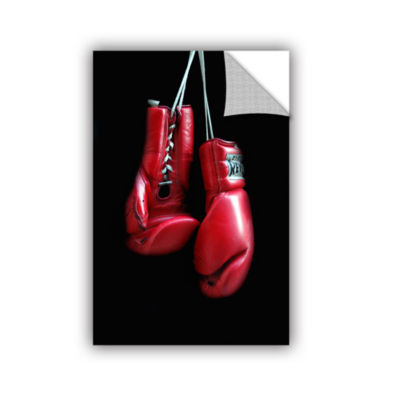 Brushstone Red Gloves Removable Wall Decal