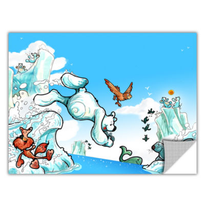 Brushstone Polar 2 Removable Wall Decal