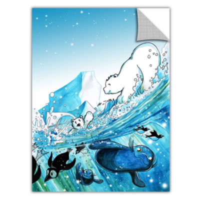 Brushstone Polar 7 Removable Wall Decal