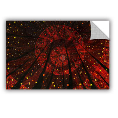 Brushstone Red October Removable Wall Decal