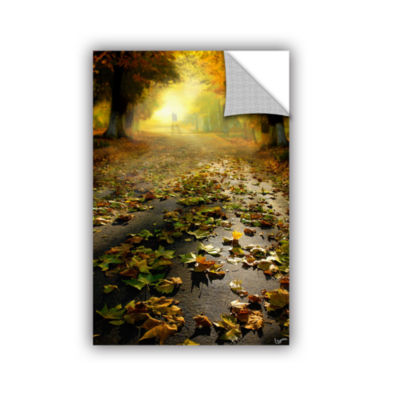 Brushstone Promenade Removable Wall Decal