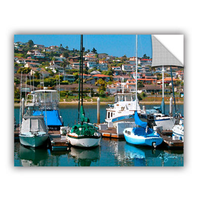 Brushstone Point Loma  Sd Removable Wall Decal