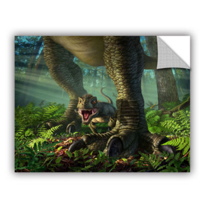 Brushstone Wee Rex Removable Wall Decal