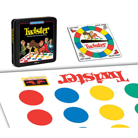 Winning Solutions 'Twister Board Game - NostalgiaEdition Game Tin