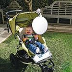 Dreambaby® Clip On Sun Shade With UV Indicator