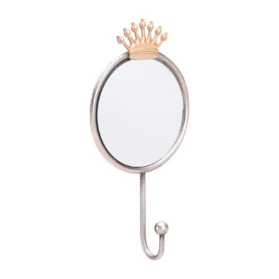 Crown Round Mirror