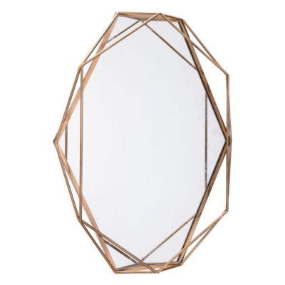 Deco Octagon Mirror