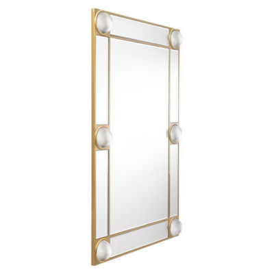 Lucite Modern Rectangular Mirror