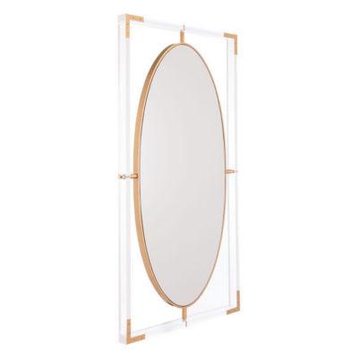 Lucite Rectangular Mirror
