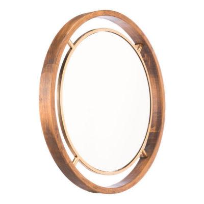 Luxe Round Mirror