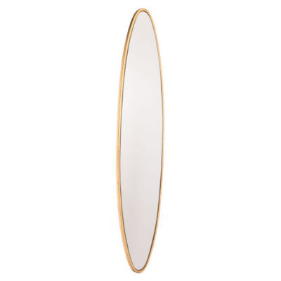 Long and Lean Oval Mirror