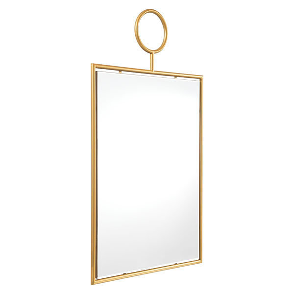 Ring Rectangular Mirror