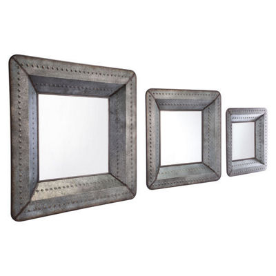Set of 3 Antique Mirrors