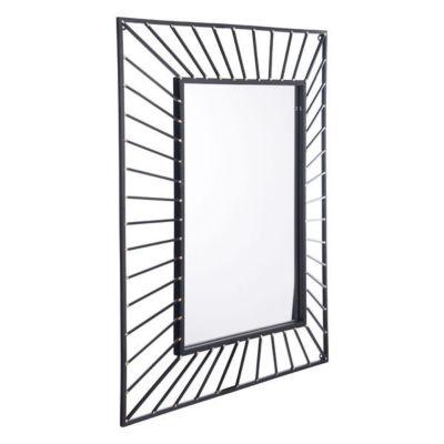 Sunburst Rectangular Mirror