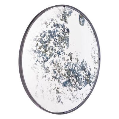 Vintage Modern Round Mirror