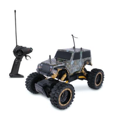 NKOK RealTree RC Jeep Wrangler Rock Crawler RemoteControl Toy
