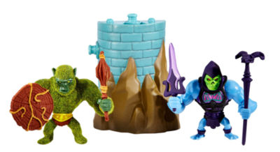 Masters of the Universe Mini Skeletor and Moss Man Figures