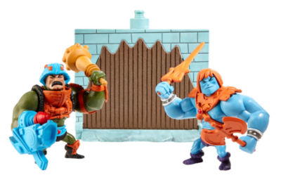Masters of the Universe Mini Faker and Man-At-Arms Figures