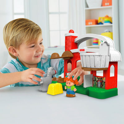 Fisher-Price Little People Hay Stackin Stable