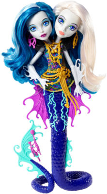 Monster High Great Scarrier Reef Peri & Pearl Serpentine Doll