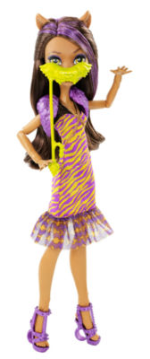 Monster High Welcome To Monster High Clawdeen WolfDoll