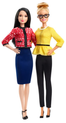 Barbie President & Vice President Dolls