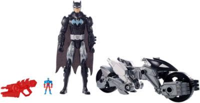 DC Comics Justice League Action Batman & Transforming Batcycle