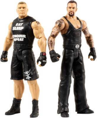 WWE Tough Talkers Undertaker & Brock Lesnar Figure