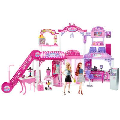 Barbie Malibu Ave. Mall & Dolls